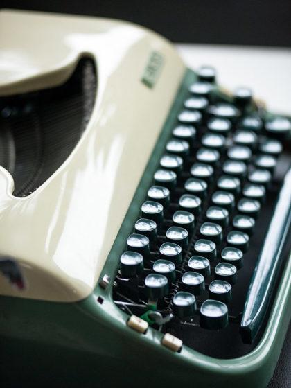 Печатная машинка Erika 20