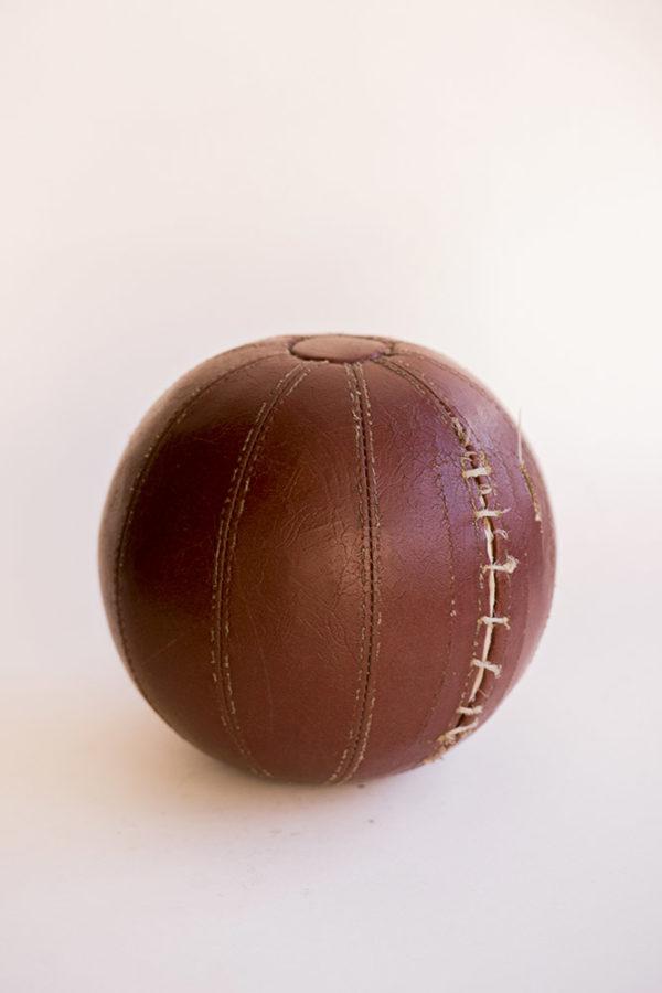 Набивной кожаный мяч