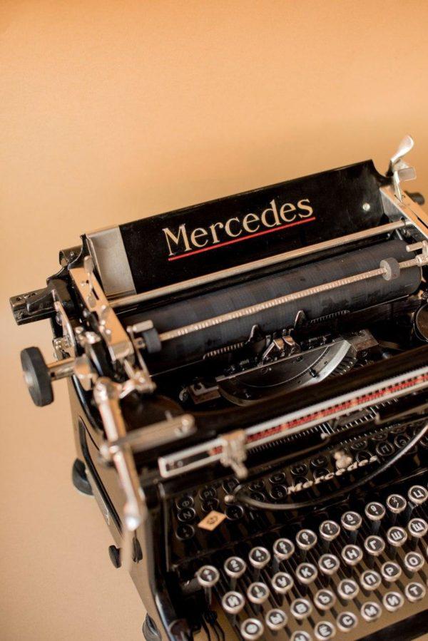 Печатная машинка Mercedes 6 1939 года
