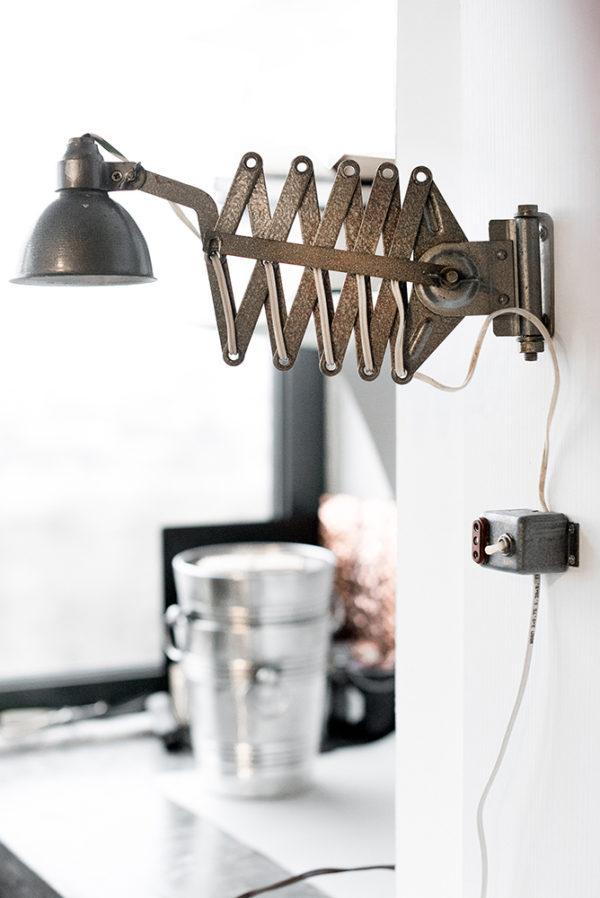 Заводская лампа-гармошка
