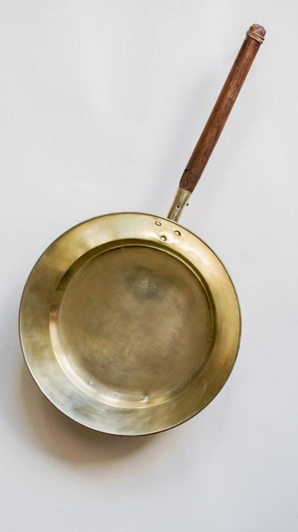 Латунный таз для варки варенья. Товарищество Кольчугина.