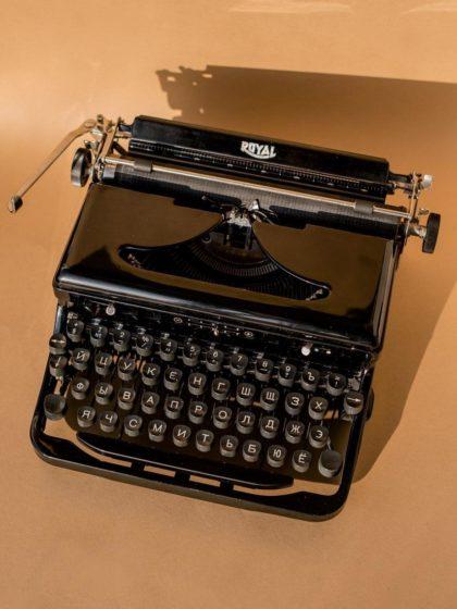 Печатная машинка Royal Portable O 1937 года