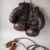 Винтажные боксерские перчатки