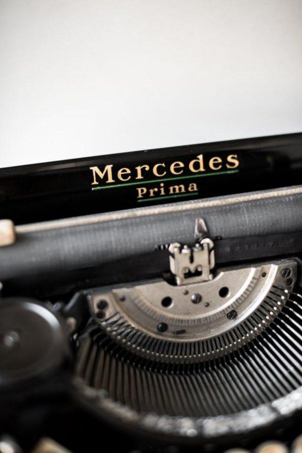 Печатная машинка Mercedes Prima 1936 год