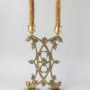 Подсвечник канделябр на две свечи