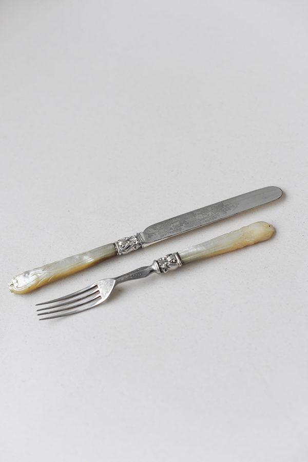 Комплект из ножа и вилки Harwood