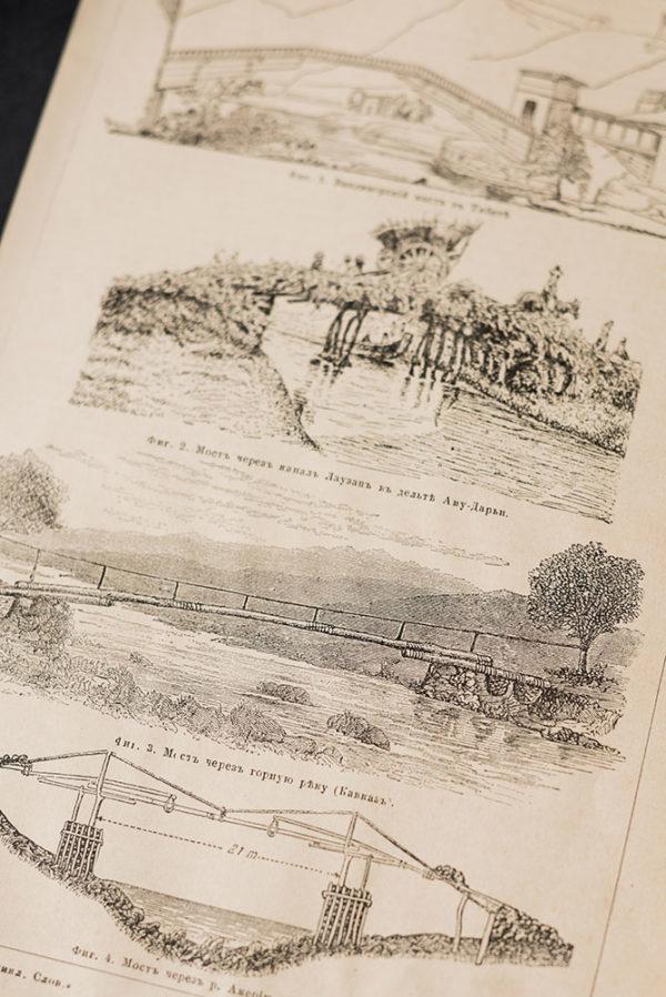 Гравюра Мосты I