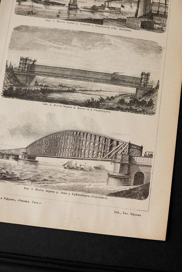Гравюра Мосты V