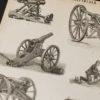 Гравюра Орудия артиллерийские III