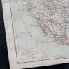 Гравюра Карта Северной Америки