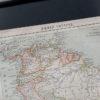Гравюра Карта Южной Америки