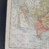 Гравюра Карта Азии