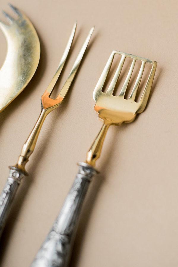 Сервировочный набор из трех предметов