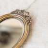 Будуарное зеркало с ручкой