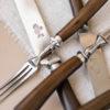 Столовые приборы XIX век клеймо Сидоровъ