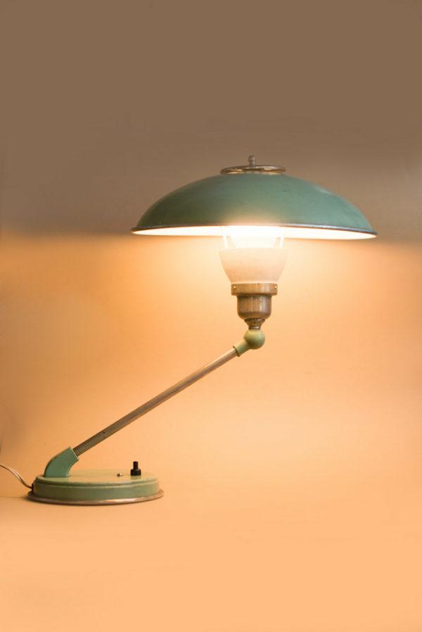 Лампа настольная СССР винтаж