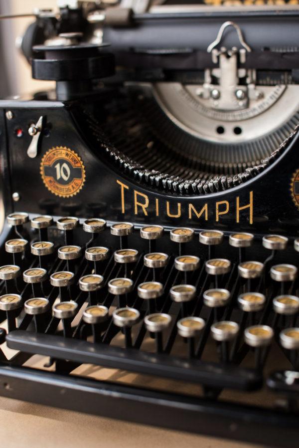 Печатная машинка Triumph Standart 10 1931 год