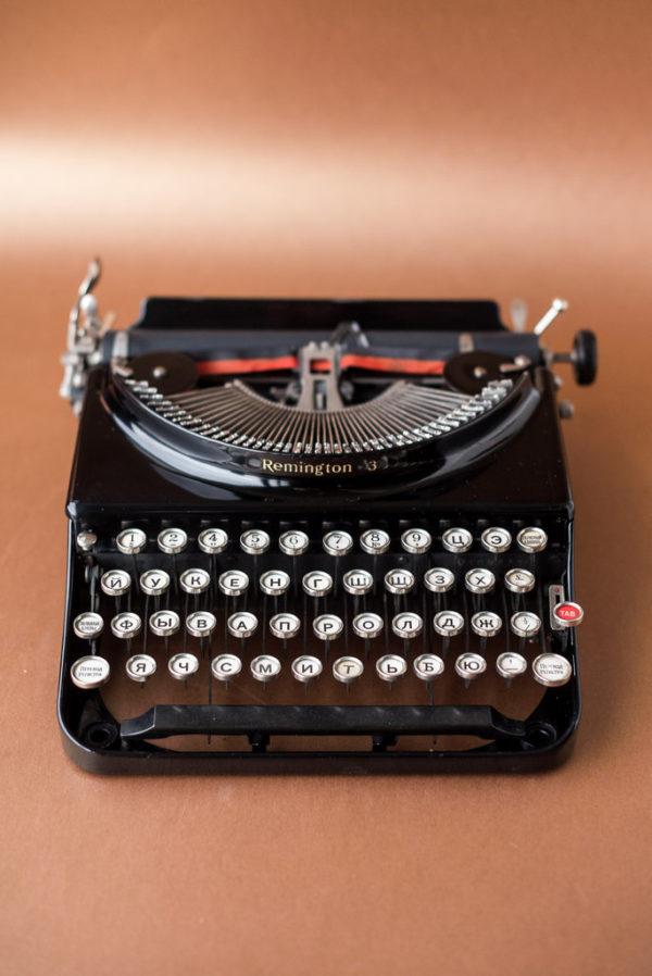 Печатная машинка Remington Portable 3 1932 год