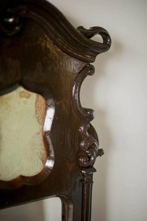 Деревянное зеркало ХIХ век