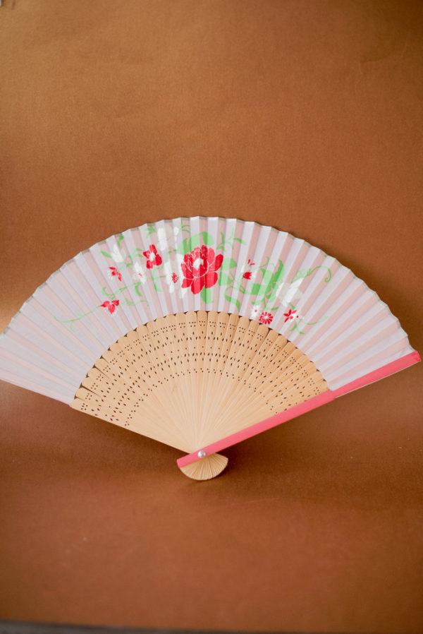 Винтажный китайский веер