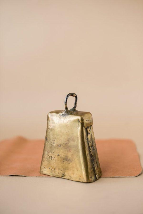Бронзовый деревенский колокол — ботало