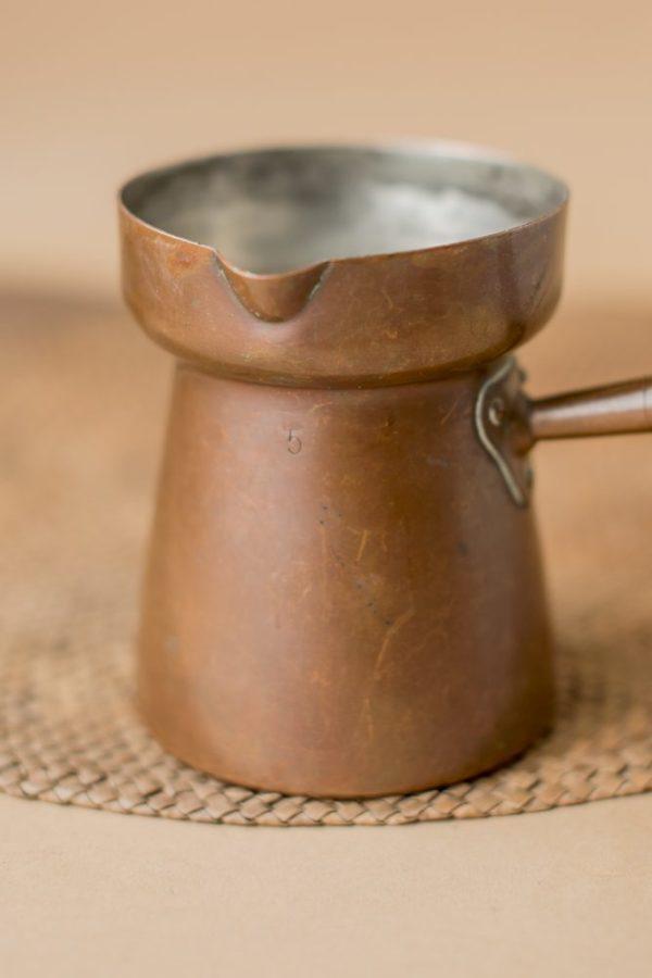Медная турка для кофе Франция