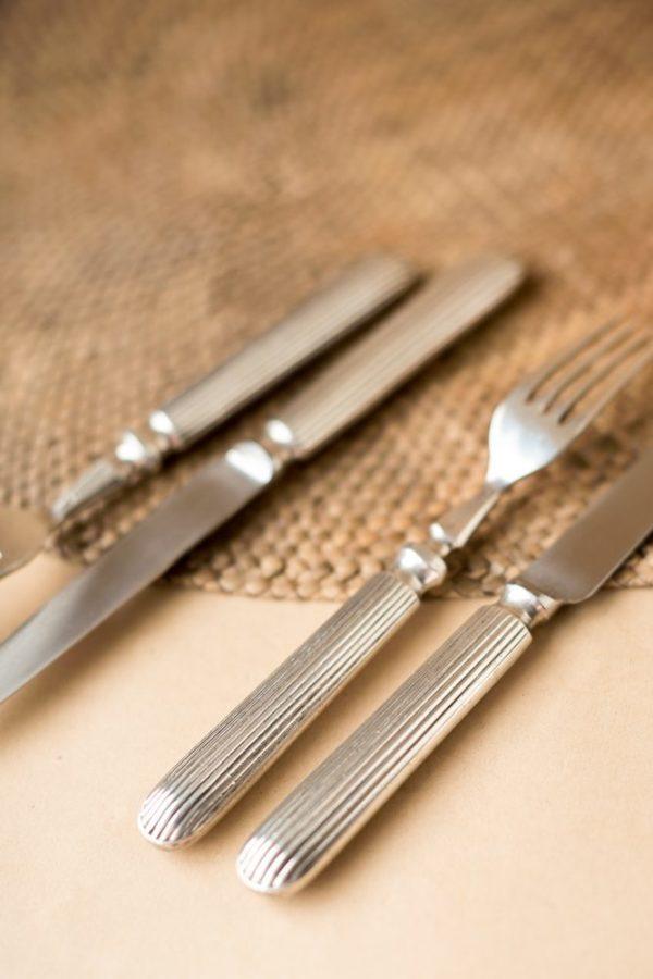 Вилка и нож английской фабрики Walker&Hall
