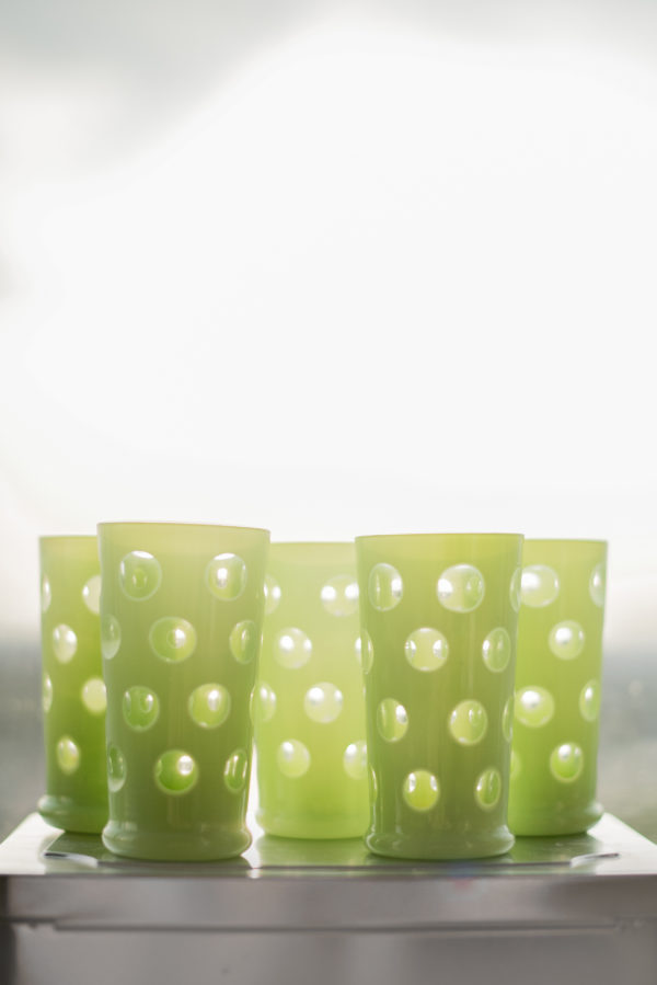 Авангардные хрустальные стаканы 20-30х годов