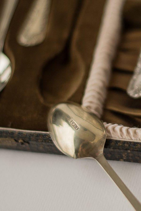 Английский чайный набор в футляре