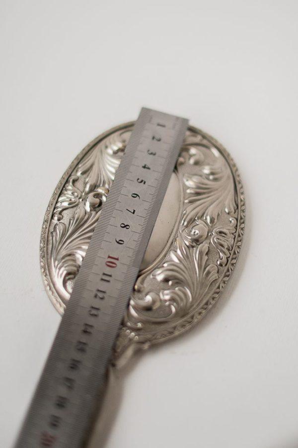 Будуарное английское зеркало с ручкой